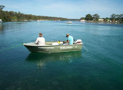 launch a boat into Sussex Inlet from the private jetty at Kullindi Homestead, holiday accommodation on the NSW South Coast