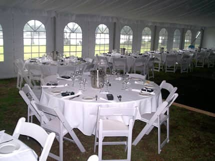 Kullindi Homestead offers plenty of space for a large marquee for your wedding or event