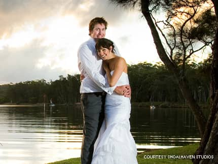 an idyllic location for your waterfront wedding