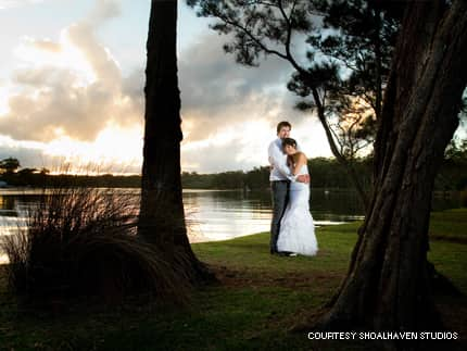sunset photographs of your waterfront, country wedding location