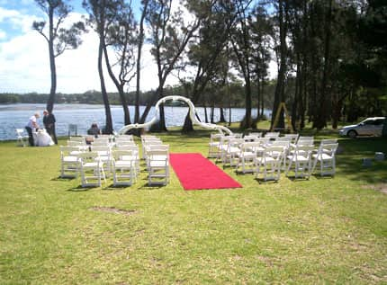 set up to celebrate your wedding or special occasion with family and friends on Kullindi Homestead's beautiful 5 acres of grounds